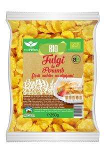 corn flakes bio cu capsuni