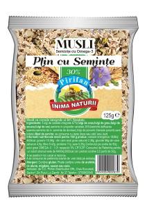 Musli seminte si omega 3 Pirifan