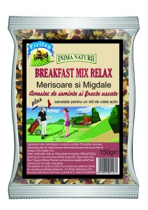 Mix fructe si seminte Breakfast Relax Pirifan